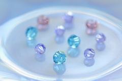 釉結晶の色合い