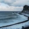 利尻島 冬到来