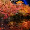 盛秋の清水