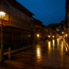 秋雨降る街