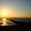 浜名湖 夕暮れ1