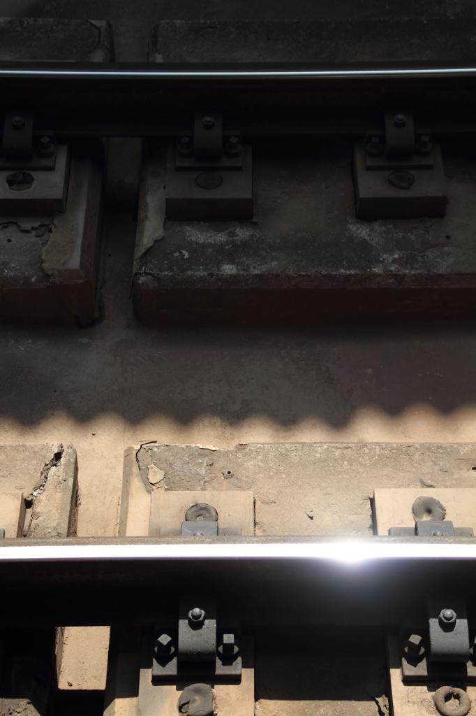 新幹線の線路