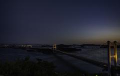 瀬戸大橋ライトアップー1