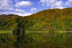 中綱湖水鏡