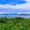 大三島から見た大久野島
