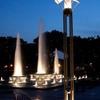 夜の噴水公園2
