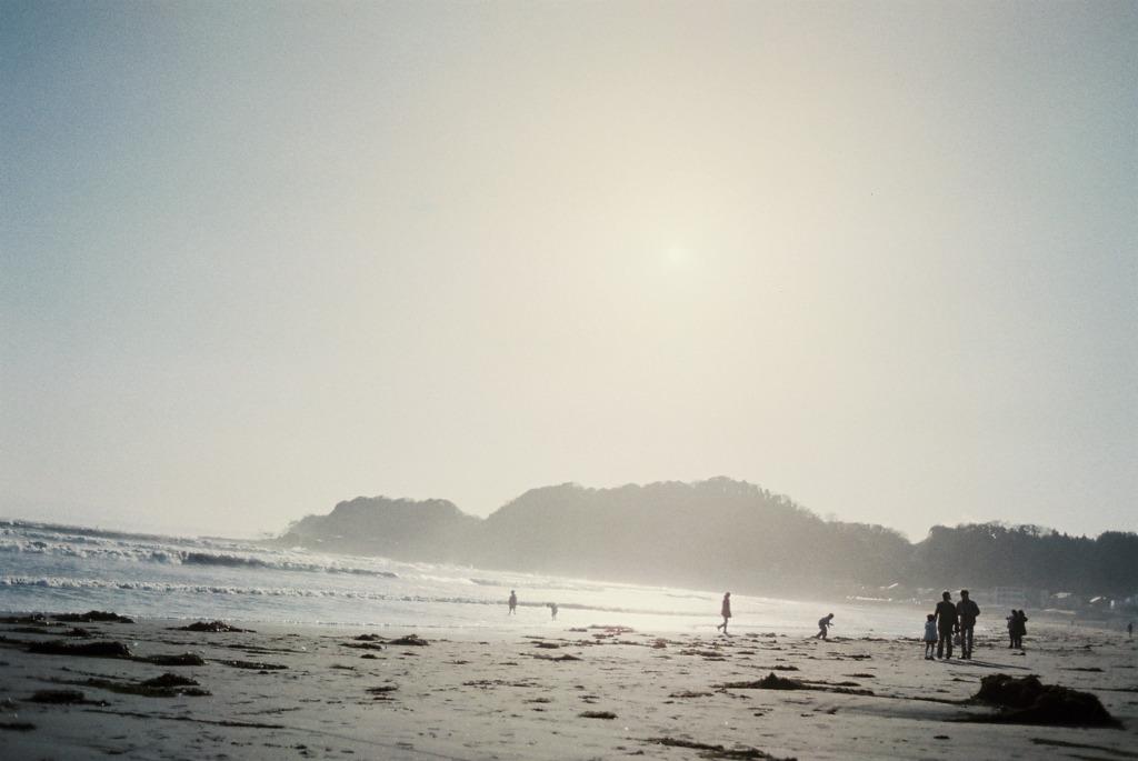 浮かぶ江ノ島