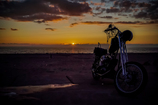 夕陽のシャンプーライダー