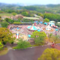 小さな遊園地