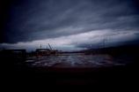 gloomy port