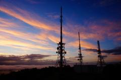 テレビ塔・雲海