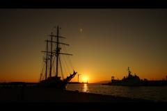 港:夕景1