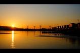 日の出:水門