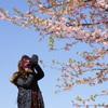 カメラ女子 -桜-