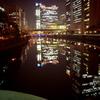 大阪、淀屋橋あたりの夜景