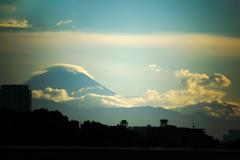 夏雲湧き上がる富士 02