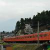 オレンジ電車、富士山へ