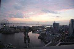 Yokohama at dawn
