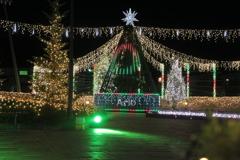 カラクリ・クリスマス アリオのイルミネーション点灯03