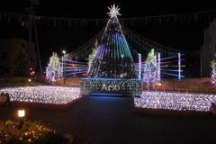 カラクリ・クリスマス アリオのイルミネーション点灯01