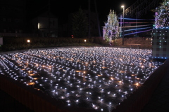 カラクリ・クリスマス アリオのイルミネーション点灯02