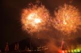 手力の火祭 花火2
