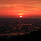CANON Canon EOS 7D Mark IIで撮影した(散居村夕景 2 )の写真(画像)