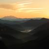 御嶽 日の出