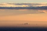 朝霧に包まれて