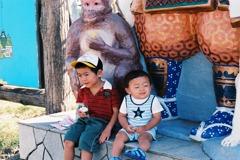 お猿さんが三匹