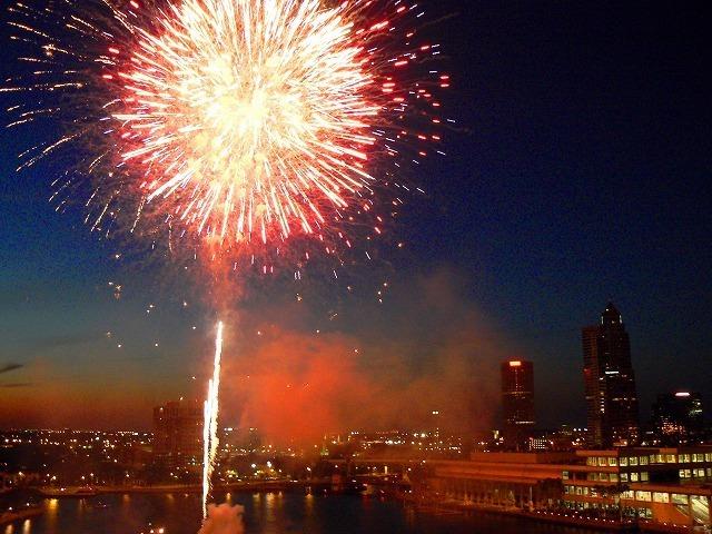 タンパベイの花火