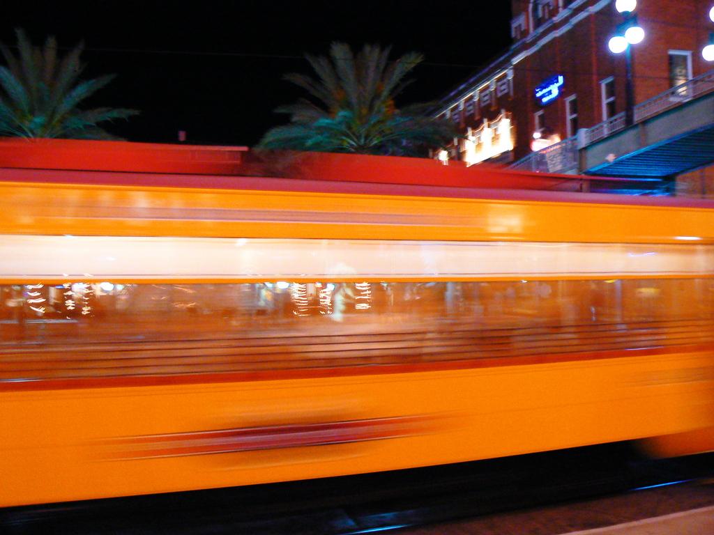 Ybor Cityの路面電車