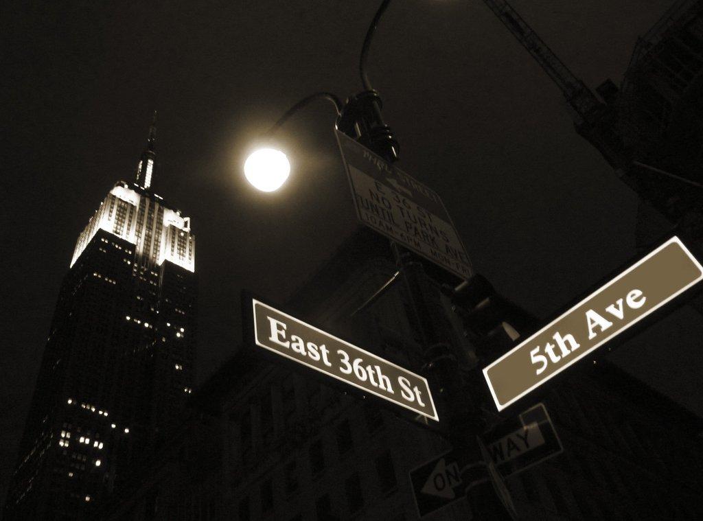 5番街に行ったけどマリーはいなかった・・・ネタが古い。