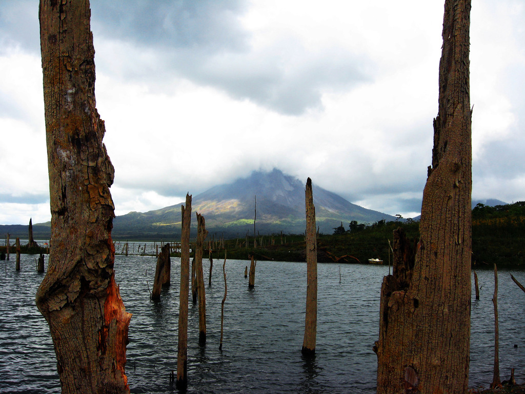 The Lagoon and Volcan Arenal