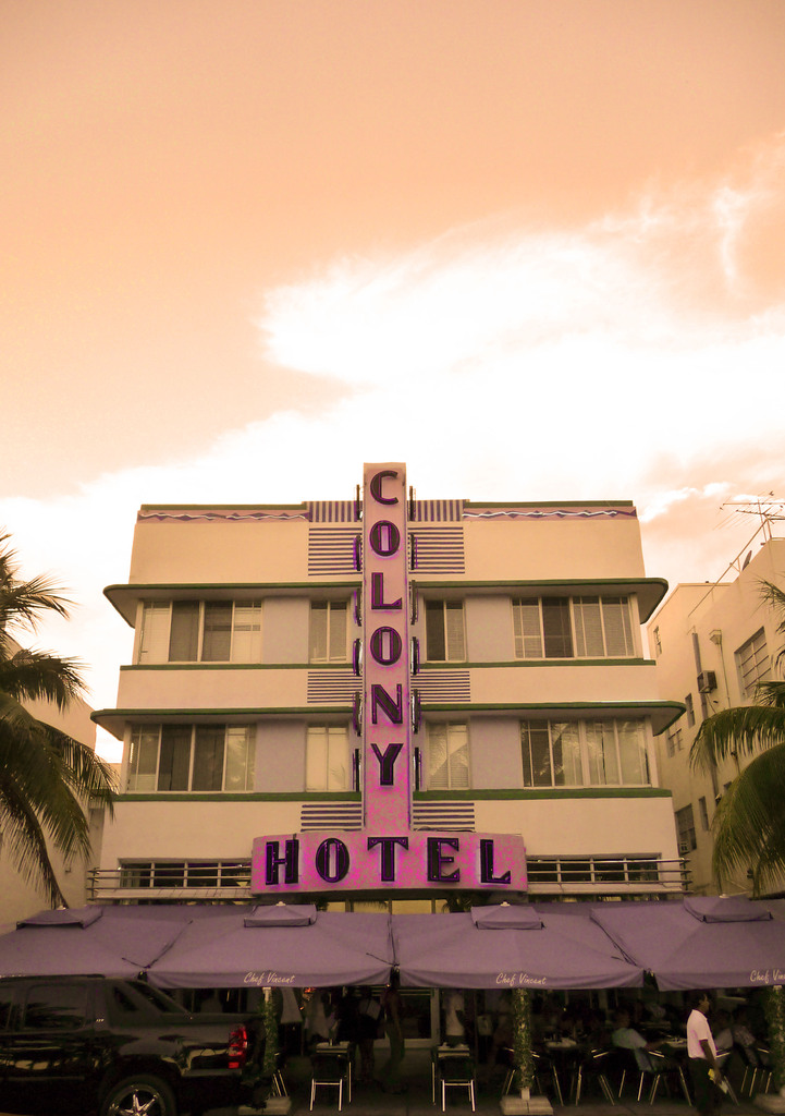 Colony Hotel in South Beach