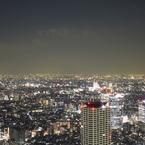 CANON Canon EOS Kiss Digital Xで撮影した風景(都庁展望室から)の写真(画像)