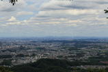 高尾山からスカイツリー見えた