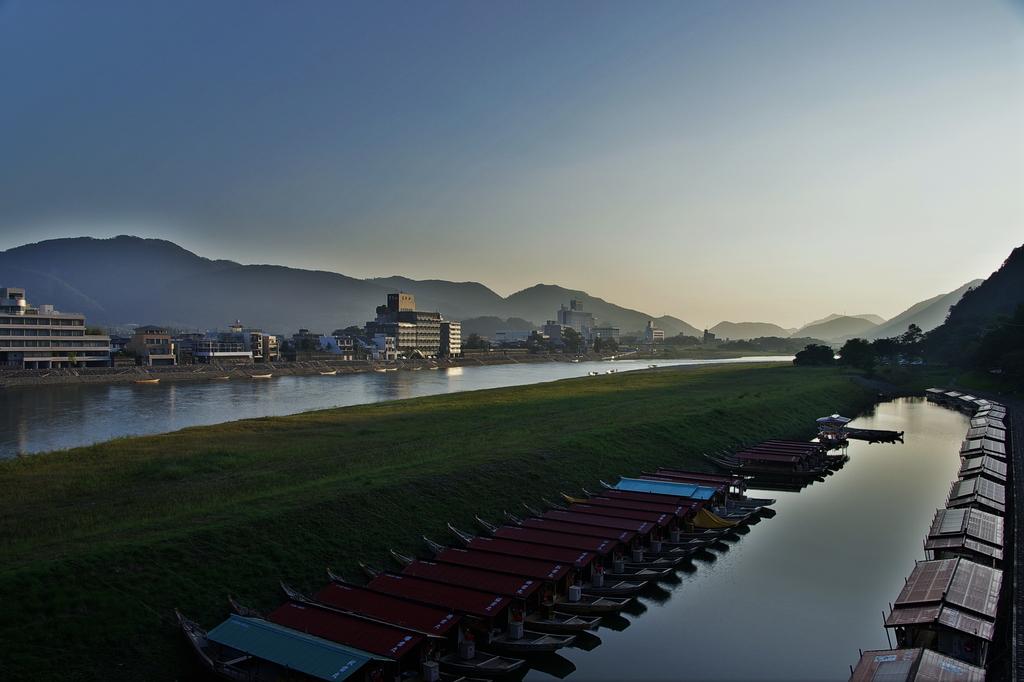 長良川朝の景(HDR)