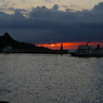 PENTAX PENTAX *ist DSで撮影した風景(ウトロ港夕照)の写真(画像)