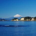 PENTAX PENTAX K20Dで撮影した風景(富士さやか 帆の花恋し 和賀江島(2010年版卓上カレンダー表紙))の写真(画像)