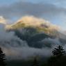 PENTAX PENTAX *ist DSで撮影した風景(羅臼岳はるか)の写真(画像)