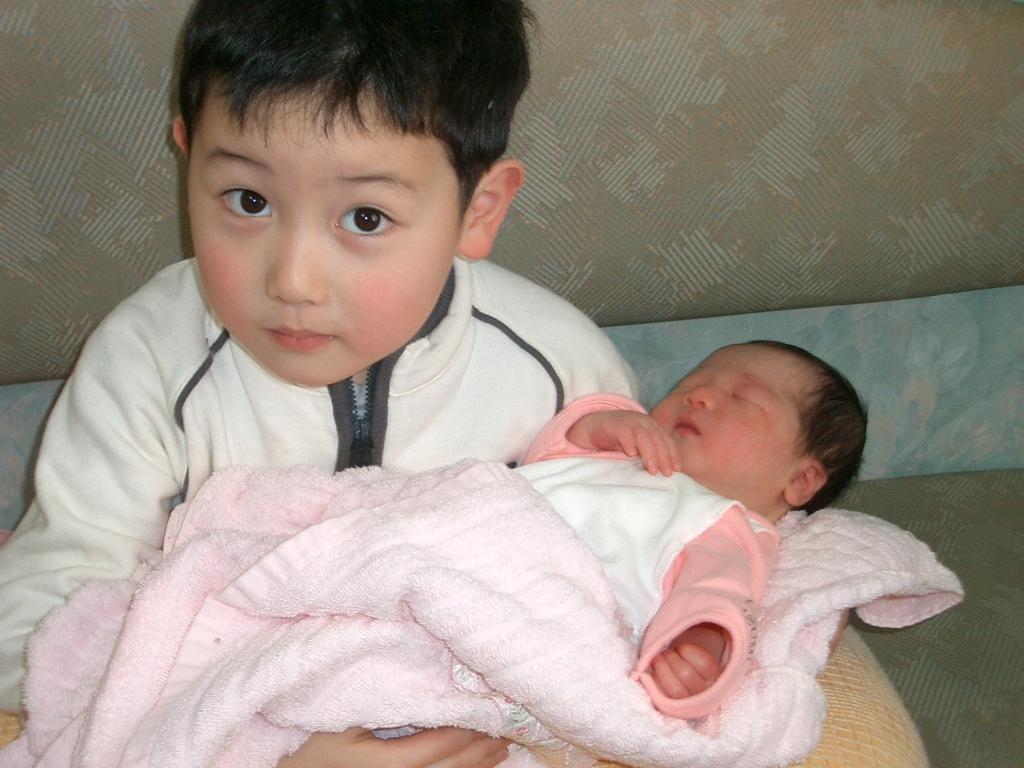 妹が生まれた日
