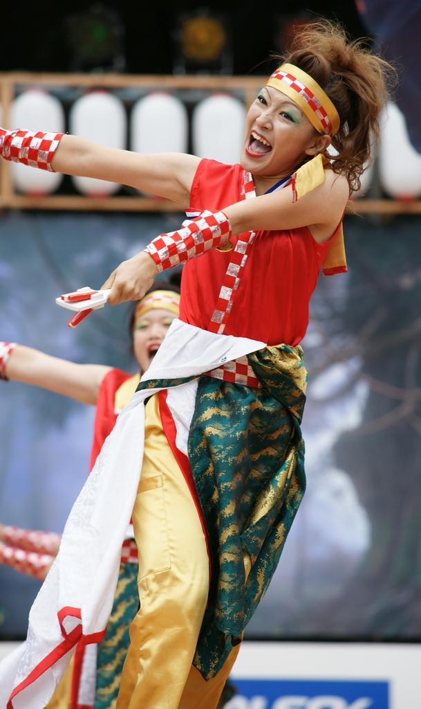 2009原宿スーパーよさこい