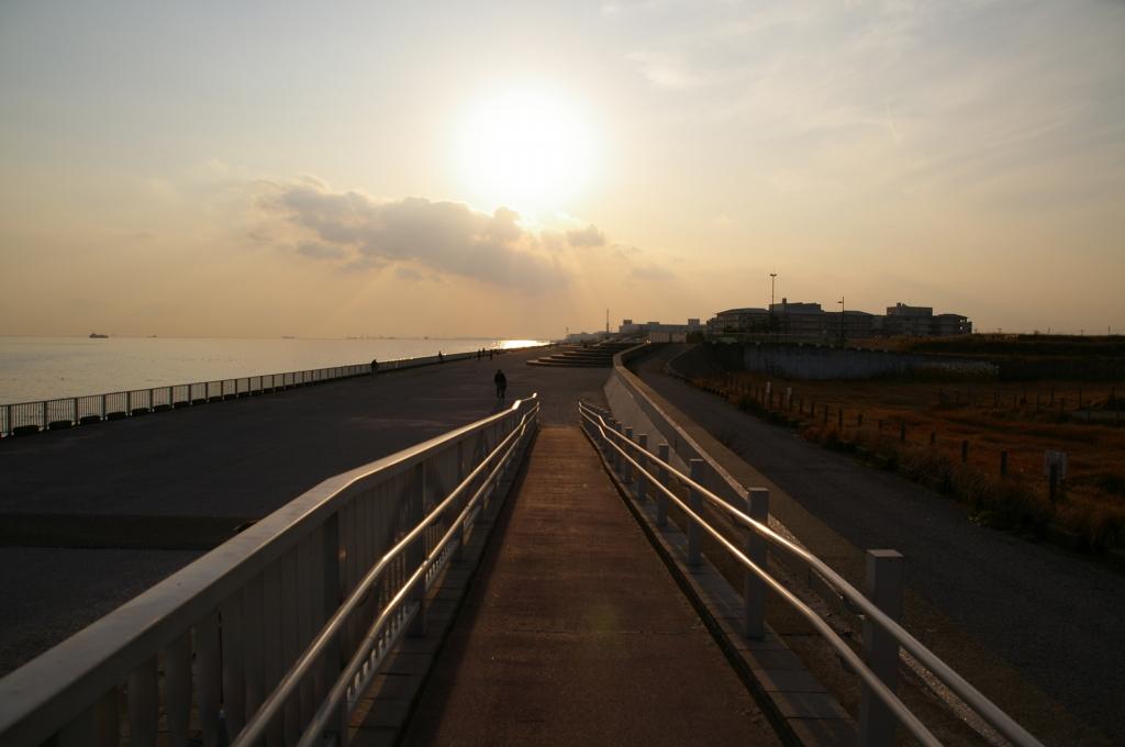 海沿いの公園