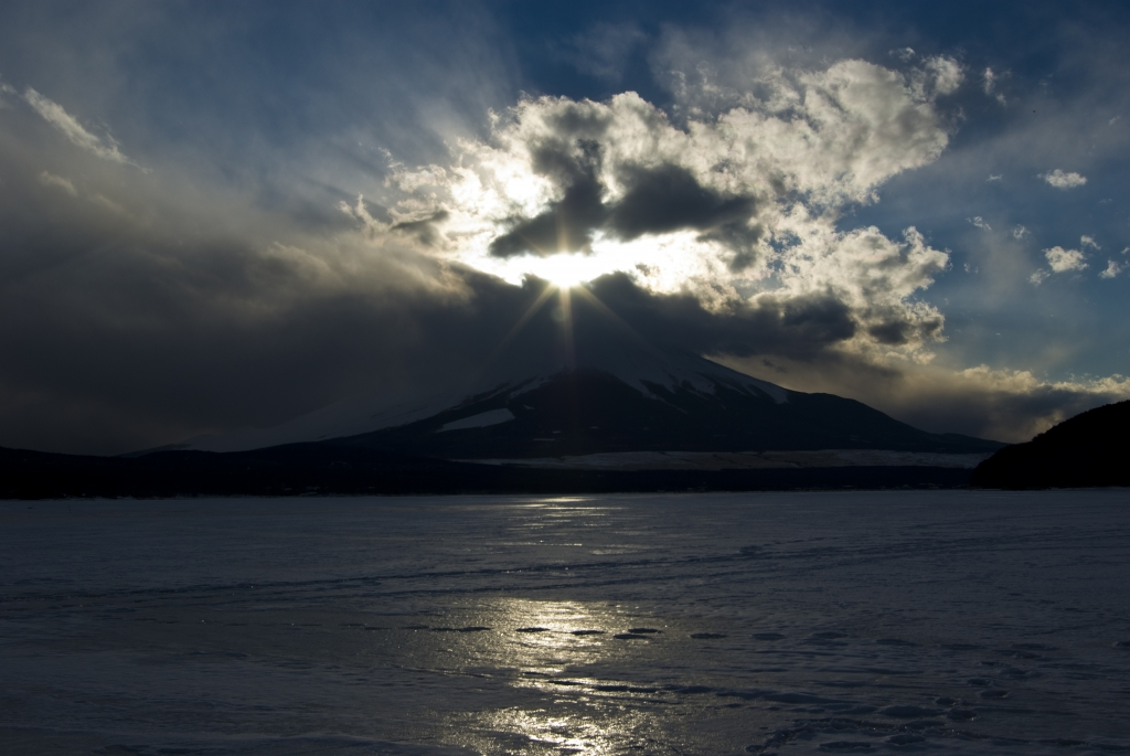 ダイヤモンド富士2008