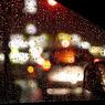 CANON Canon EOS 20Dで撮影したインテリア・オブジェクト(雨の踏切待ち)の写真(画像)