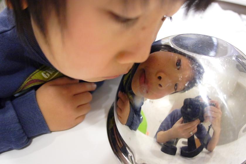 魚眼? × 魚眼(1)