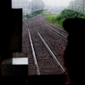 CANON Canon EOS 20Dで撮影した乗り物(rainy train)の写真(画像)