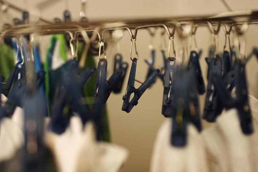 部屋☆洗濯バサミ
