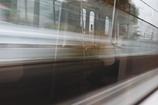 電車内?電車外?